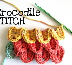 Scuola di uncinetto: come si fa il Punto Coccodrillo video Crocodile Stitch