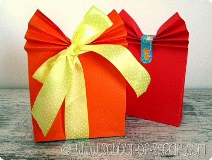 Favoloso Lavoretti per la festa della mamma pacchetto regalo fai da  EP22