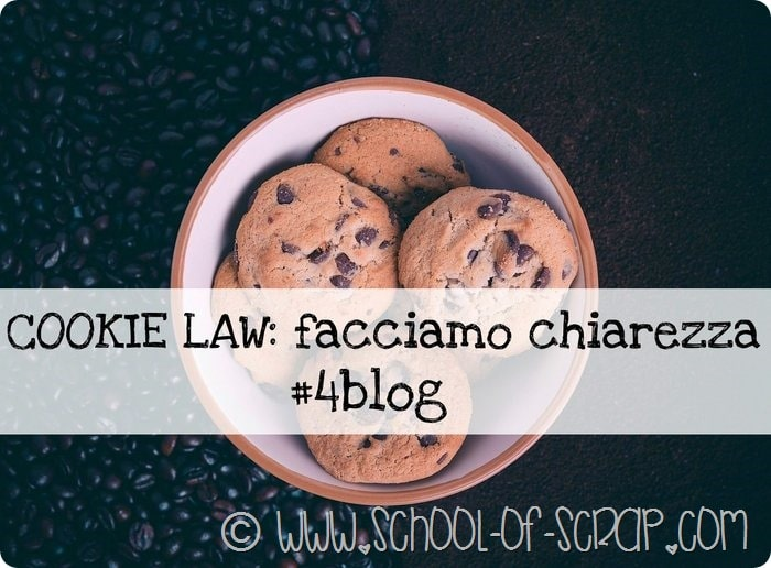 Blogger per lavoro con passione: Cookie Law facciamo chiarezza