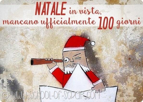 Mancano 100 giorni a Natale, io comincio a pensare ai regali