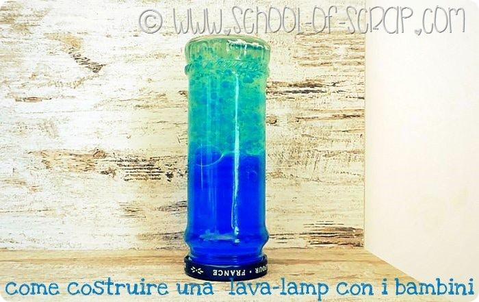Esperimenti e lavoretti con i bambini: come fare una lava lamp