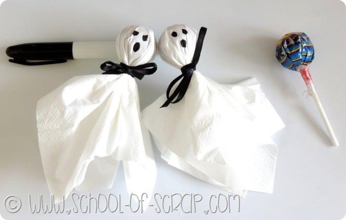 Idee per Halloween: fantasmini Chupa Chupa da regalare a grandi e ...