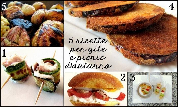 #diBLOGinBLOG: 5 ricette per Gite fuoriporta e picnic d'autunno