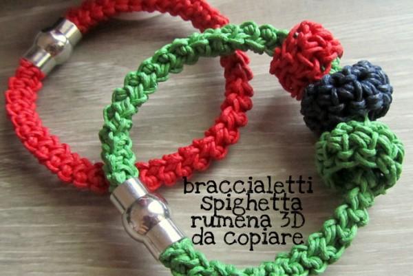 Facciamo braccialetti per tutti con cordoncino e spighetta rumena #ILOVEOPITEC