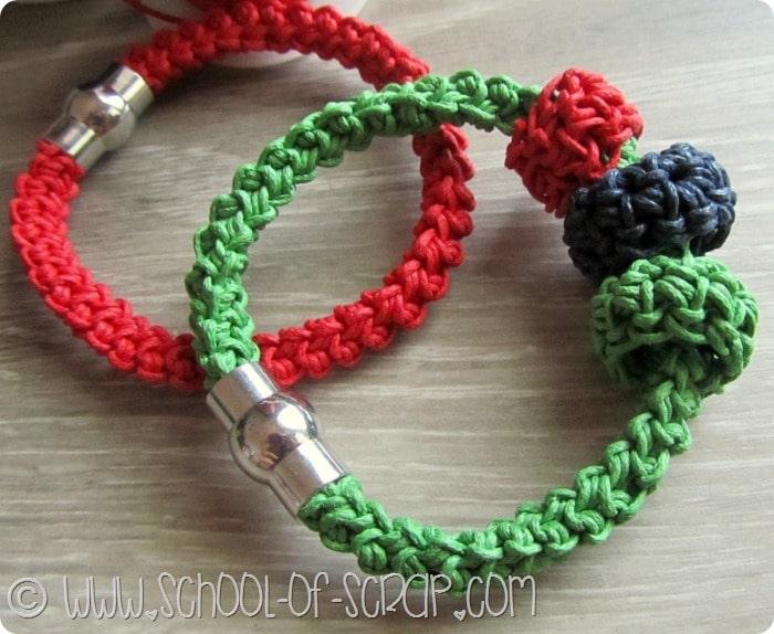 Conosciuto Corda cotoni colorati e macramè per fare braccialetti estivi  HM97