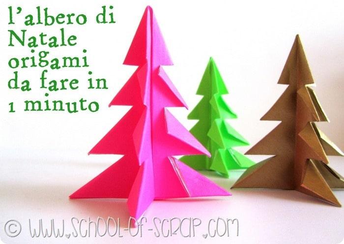 Albero Di Natale Origami.Natale In 1 Minuto L Albero Di Natale Origami Alessia Scrap Craft