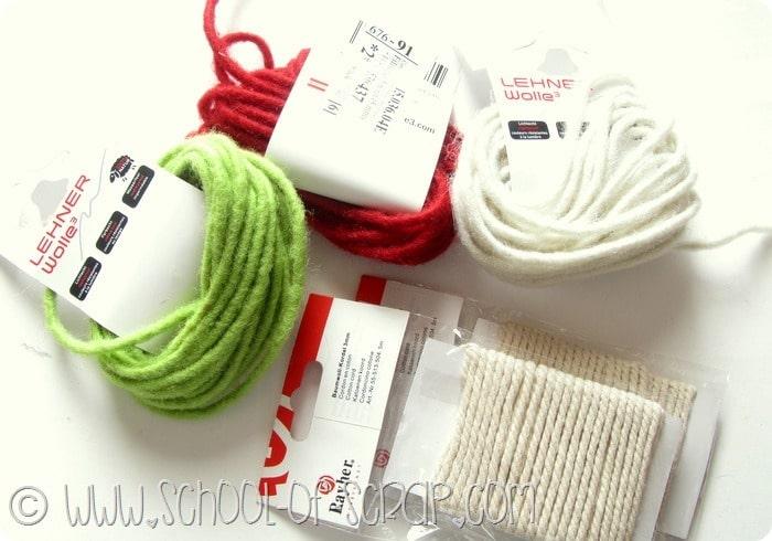 Bijoux fai da te: la collana di feltro (perfetta per Natale) #IloveOpitec