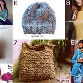 Raccolta di idee: 10 regali da fare a maglia ai ferri