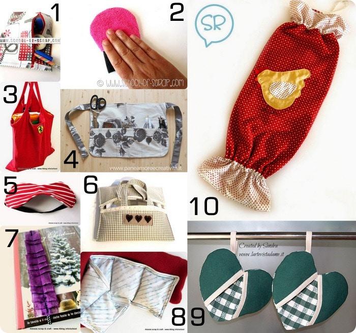 Molto Raccolta di idee: 10 regali da fare con il cucito creativo (anche  CK15