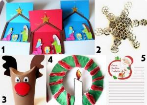 Raccolta di Idee: 10 lavoretti di Natale da fare con i bambini