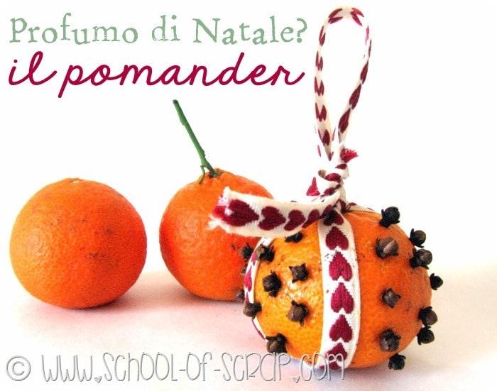 COME PROFUMARE LA CASA a Natale IN MODO NATURALE: facciamo i Pomander