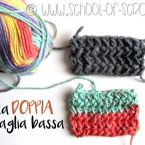 Scuola di Uncinetto: la doppia maglia bassa