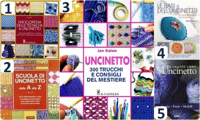 Raccolta di Idee: i 10 libri di uncinetto più utili per chi comincia (e non solo)