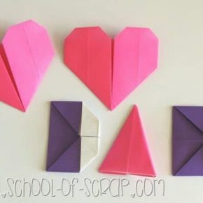 Origami per la festa del papà: Love Dad di carta