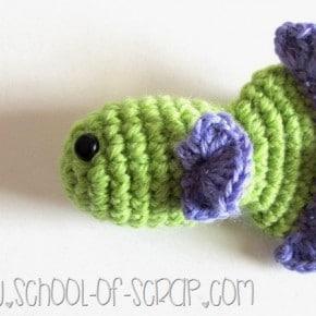 Scuola di uncinetto: come fare un pesciolino a crochet per il pesce d'aprile