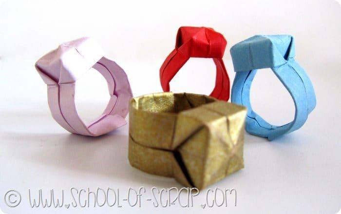 Video tutorial da un minuto: facciamo l'anello origami con la pietra