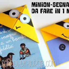 Origami: il Minion-segnalibro di carta da fare in 1 minuto