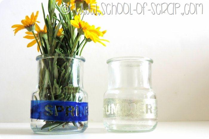 Come riciclare i Vasetti di vetro dello yogurt