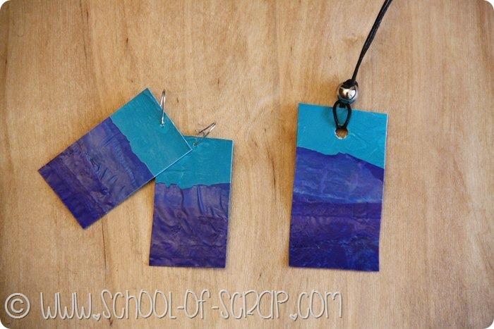 Guest Post: come fare gli orecchini riciclando le buste di plastica