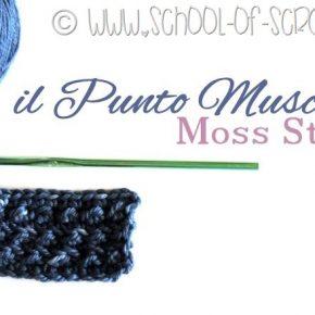 Scuola di Uncinetto: il Punto Muschio o Moss Stitch