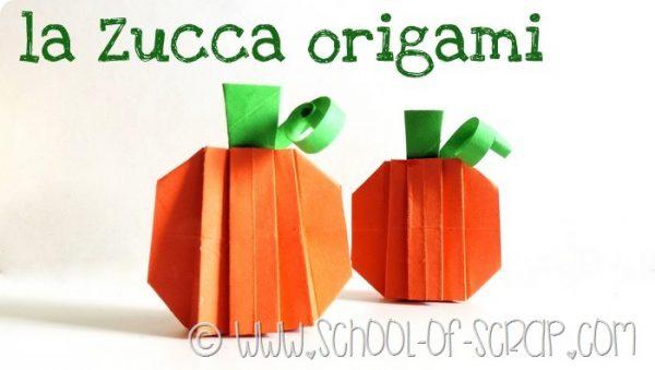 La zucca 3D a origami