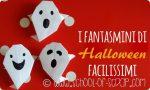 Origami: fantasmi di Halloween facilissimi da fare in 1 minuto