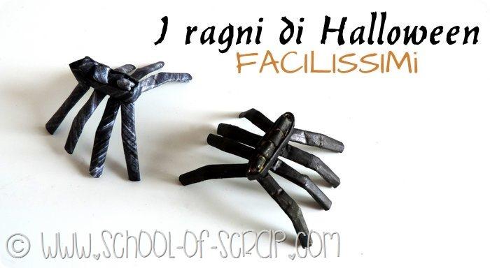 Decorazioni di Halloween: i ragni 3D fatti da carta e facilissimi