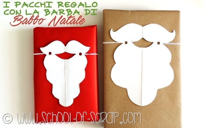 Idee per Natale: i pacchetti regalo con la barba di Babbo Natale