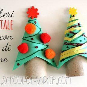 Aspettando Natale: come fare l'albero di Natale con un tubo di cartone