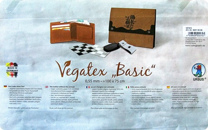 Recensione tessuto Vegatex la pelle vegana per creare + idee per etichette DIY