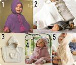 10 poncho e mantelle baby da fare a maglia o uncinetto #RaccoltadiIdee