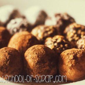 Regali fai da te per la festa del papà: tartufi al cioccolato facilissimi