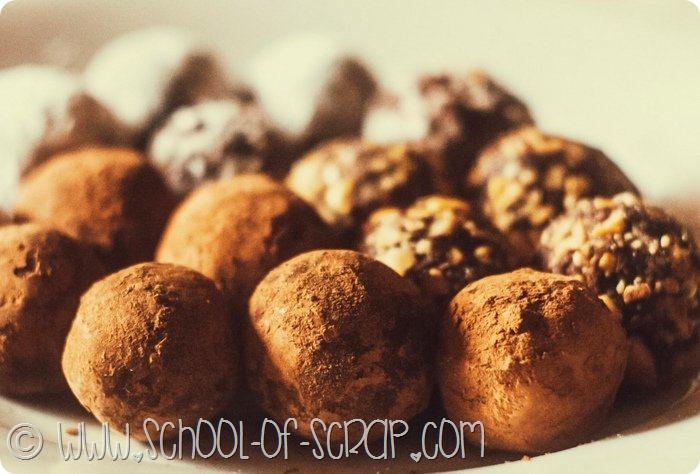 Regali fai da te per la festa del papà tartufi al cioccolato facilissimi
