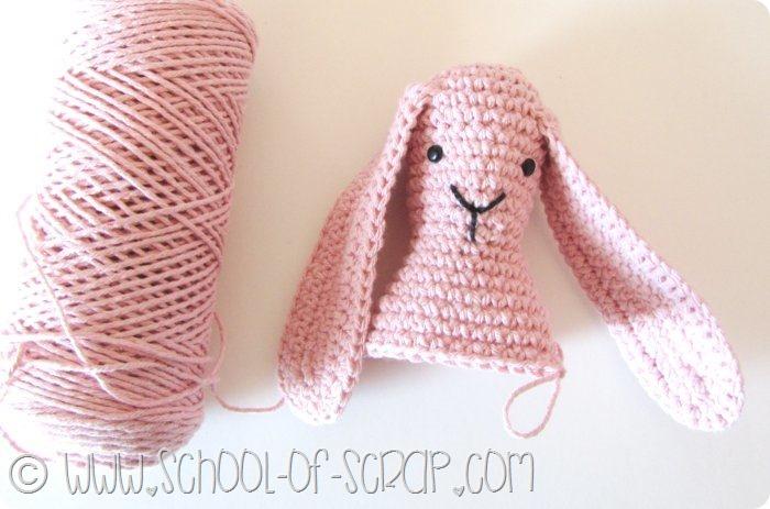 Scuola di Uncinetto: il tutorial del coniglio amigurumi DouDou