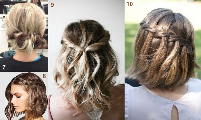 Acconciature capelli medi foto