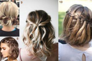 10 acconciature fai da te per capelli lunghi e medi