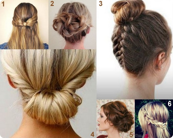 acconciature DIY con capelli lunghi