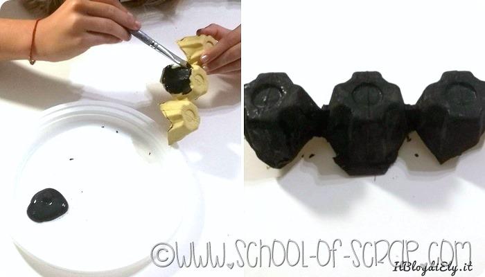 Guest Post: come fare un pipistrello con il cartone delle uova per