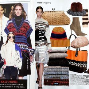Autunno/Inverno: idee moda a maglia e uncinetto