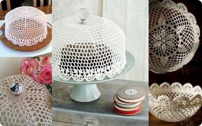 scuola di uncinetto - come fare un copri torta a crochet
