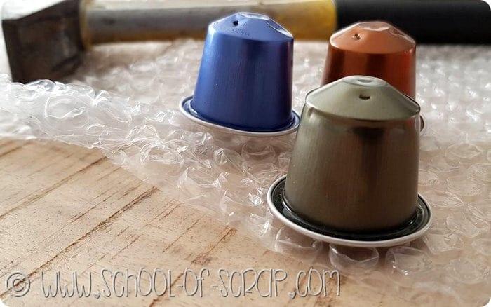 Natale creativo: presepe con le capsule del caffè riciclate