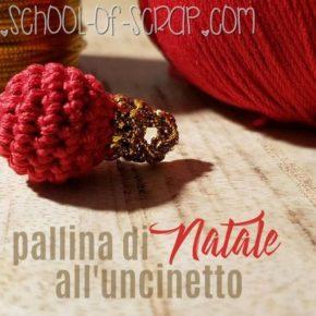 Scuola di Uncinetto: come fare le palle di Natale a crochet