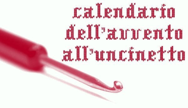 Calendario dell'Avvento all'Uncinetto