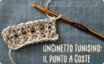 Video tutorial: punto a coste a uncinetto tunisino
