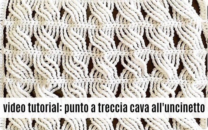 Video Tutorial Punto A Treccia Cava Alluncinetto Alessia Scrap