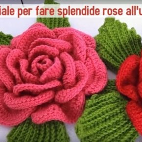 Tutorial uncinetto: come fare bellissime rose a crochet