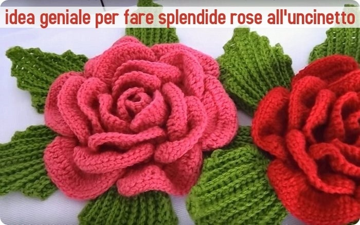 Tutorial Uncinetto Come Fare Bellissime Rose A Crochet Alessia