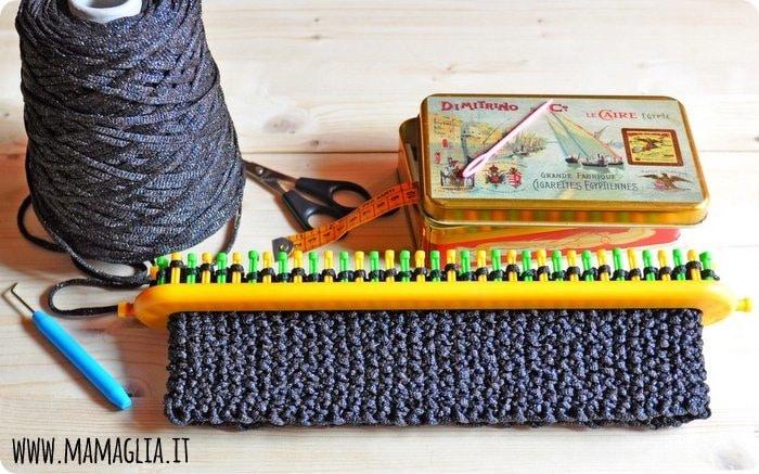 Tutti i segreti dei telai da maglia Knitting Loom e cosa ci puoi fare