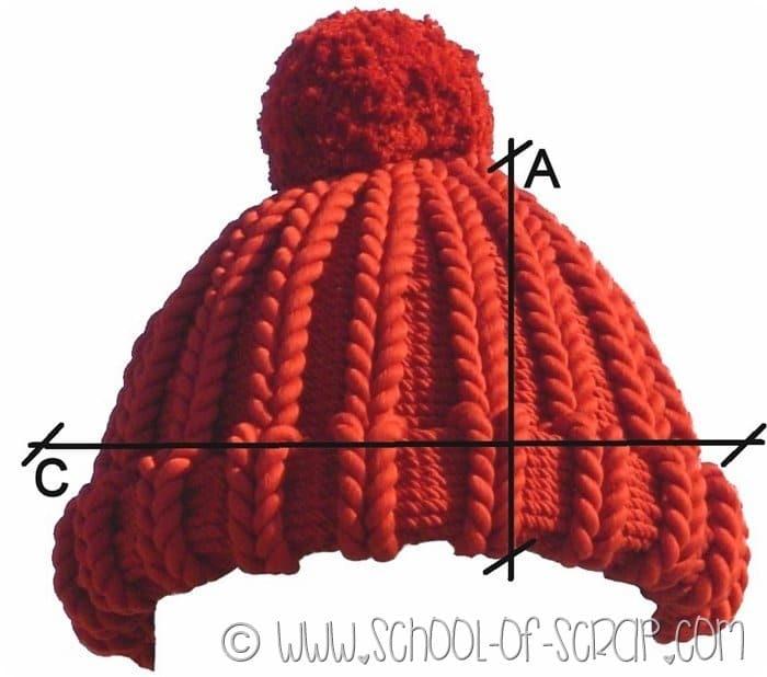 come calcorale le misure di cappelli e berretti fai da te
