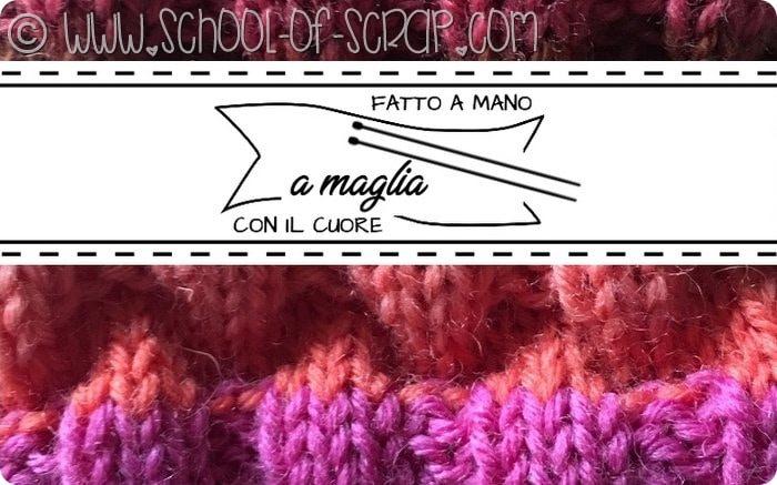 Etichette gratis per regali fatti a mano a maglia ai ferri